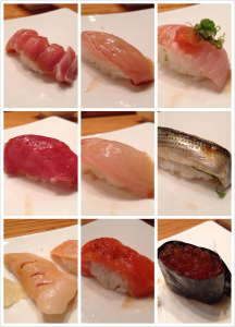 Omakase at Takesushi