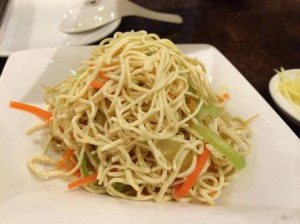 "Shredded soy noodle ""salad""."