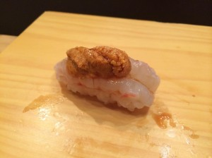 Botan sweet shrimp.